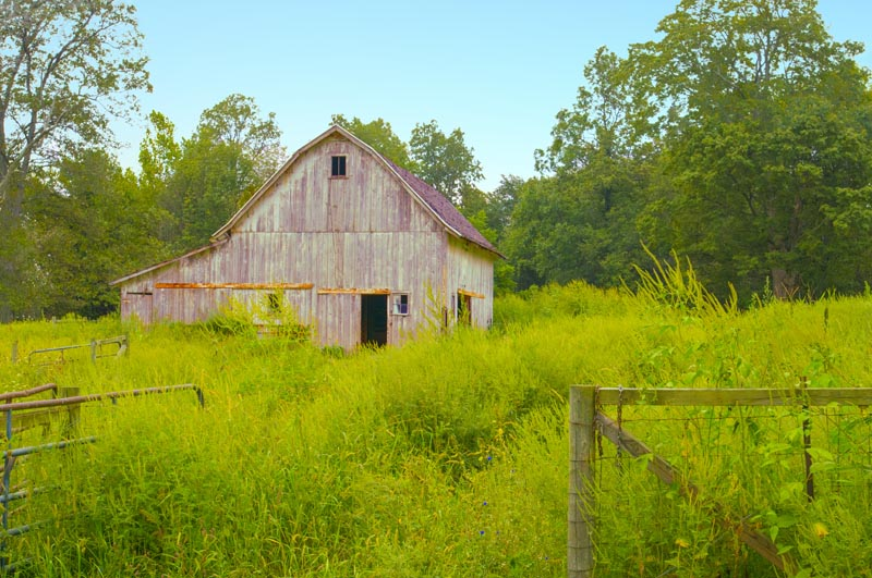 Barn;Abandoned;Old;Antique;wethered wood;gray;Indiana;Grant County;Midwest;rural;Farm