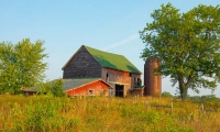 Farm;barn;Indiana;midwest;rural