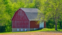 Barn;red;Midwest;in