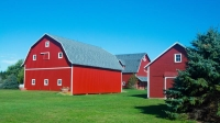Farm;Barn;Red;Indaina;Midwest;green