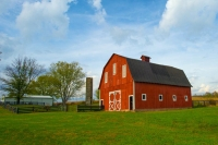 Barn;Barns;Farm;Farms;red;Green;Blue;Indiana;Owen-County;Midwest;Rural