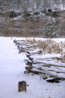 white;brown;vertical;trees;winter;snow;mill;fence;Alley-Mill;Alley-Spring;Eminence-Missouri