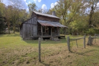 ar;arkansas;homestead;cabin;barn;parker;hickman;erbie
