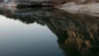 water;reflection;warm;rock-formations