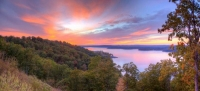 sunset;lake;table-rock-lake;branson;mo;missouri;kimberling-city;lampe;autumn;fall;foliage;color;blue